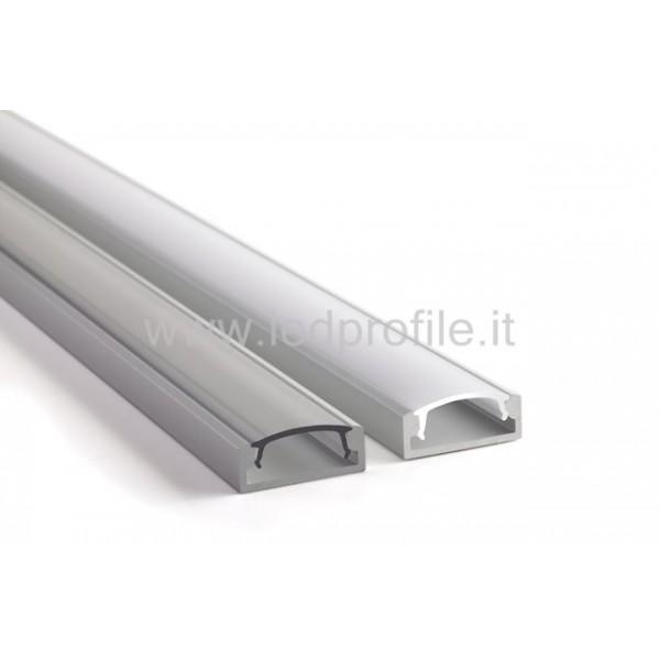 Profili per led 3 led profile for Profili alluminio leroy merlin
